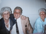 Grandma Lucy, Uncle Ralph and Aunt Gloria (photo courtesy of Gina Musilli)